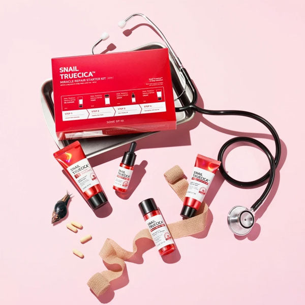 Some By Mi Snail Truecica Miracle Repair Starter kit - Korean-Skincare