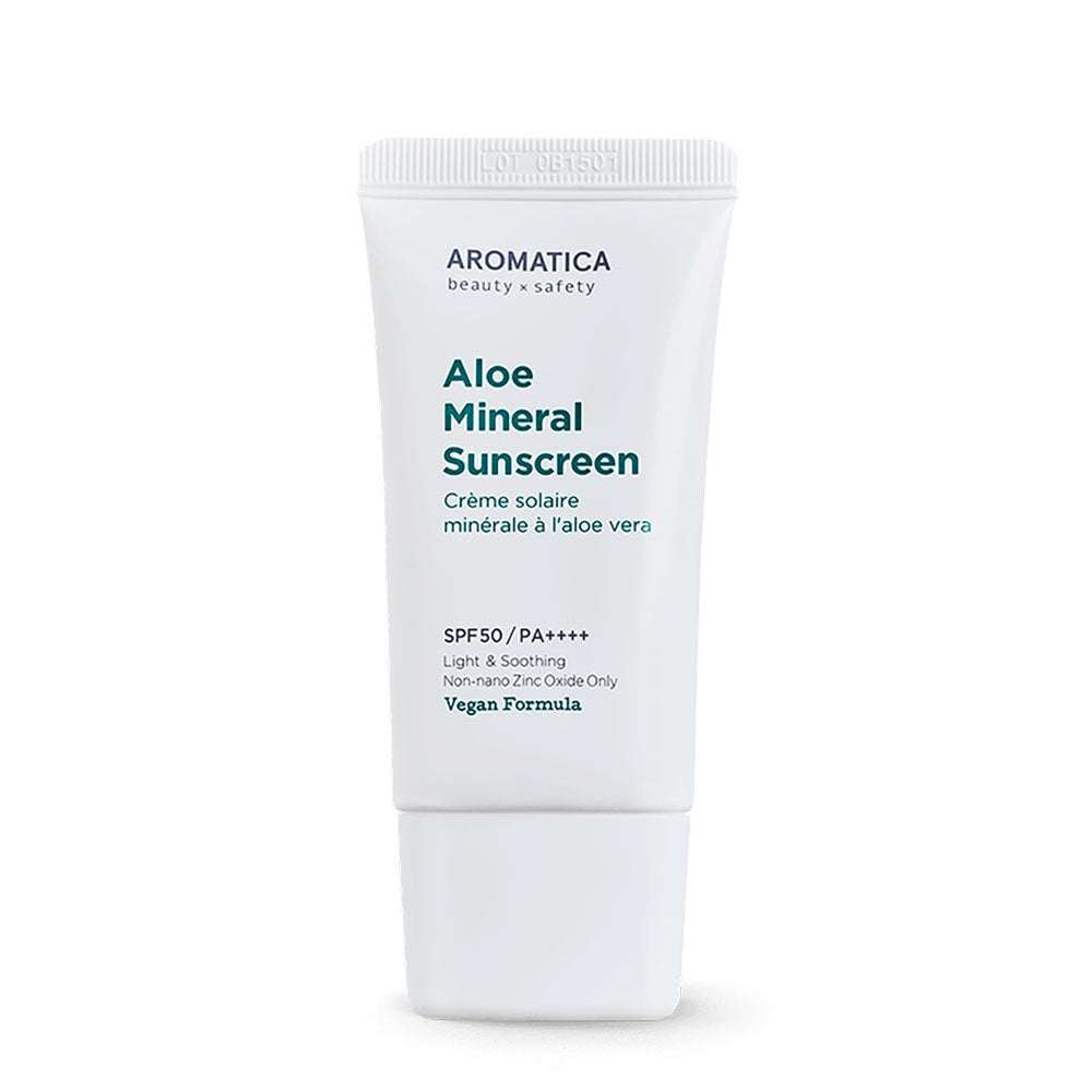 Soothing Aloe Mineral Sunscreen SPF50+/PA++++