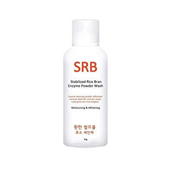 SRB Stabilized Rice Bran Enzyme Powder Wash - Korean-Skincare