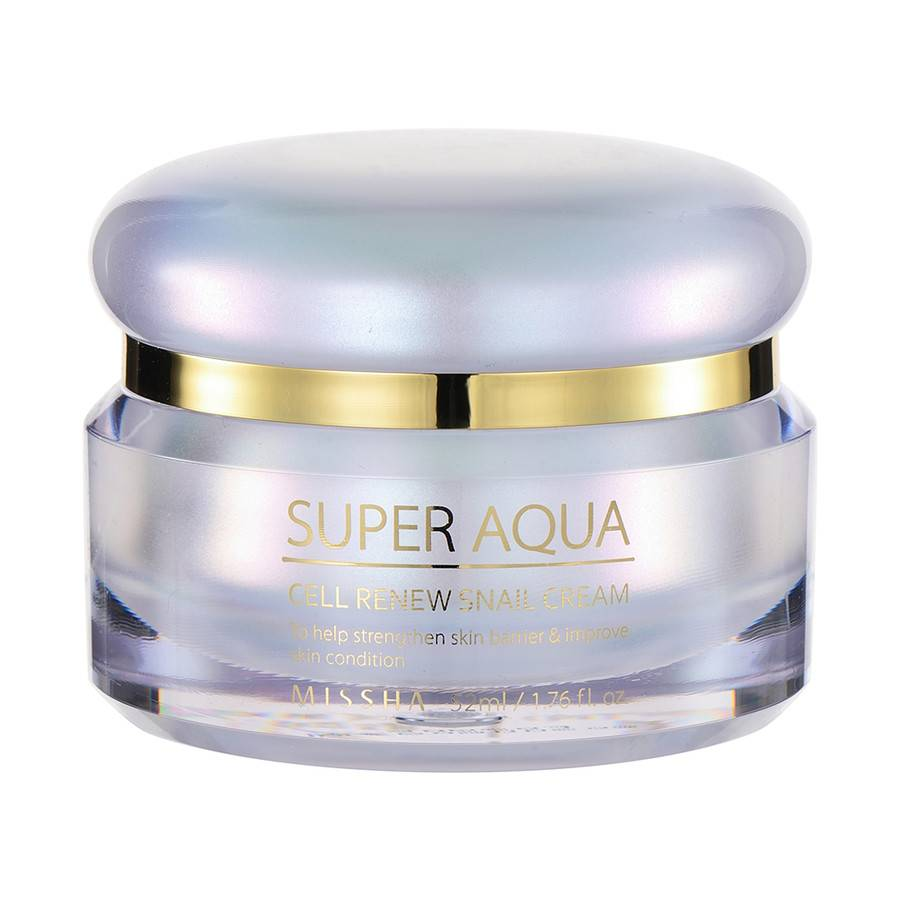 Missha Super aqua cell renew snail cream - Korean-Skincare