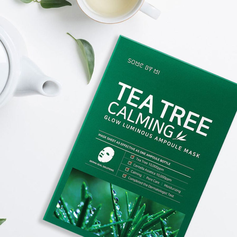 Tea Tree Calming Glow Luminous Ampoule Mask