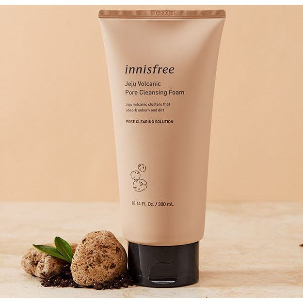 Innisfree Volcanic Pore Cleansing Foam - Korean-Skincare