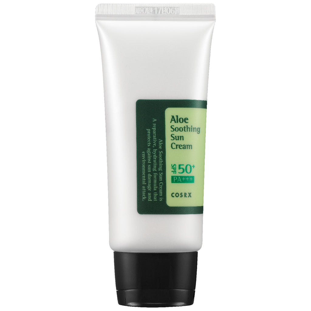 COSRX Aloe Soothing Sun Cream SPF50 - Korean-Skincare