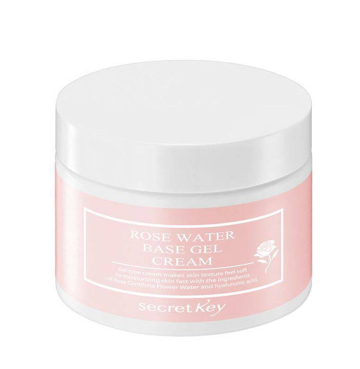 Rose Water Base Gel Cream