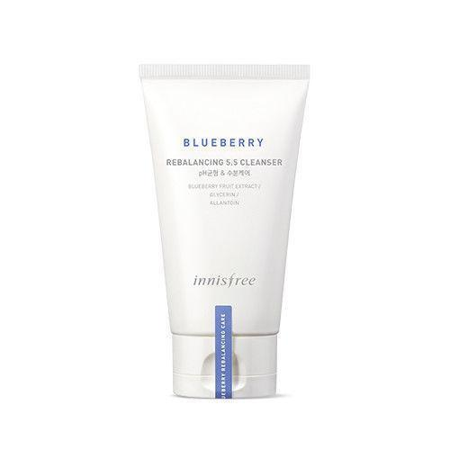 Innisfree Blueberry Rebalancing 5.5 Cleanser - Korean-Skincare