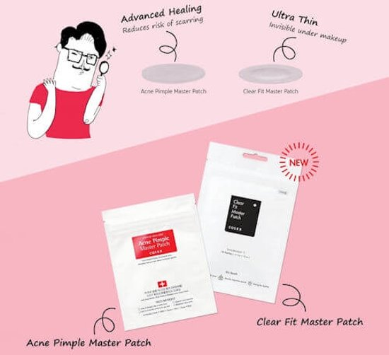 COSRX Clear Fit Master Patch - Korean-Skincare