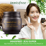 Innisfree Super Volcanic Pore Clay Mask 2X - Korean-Skincare
