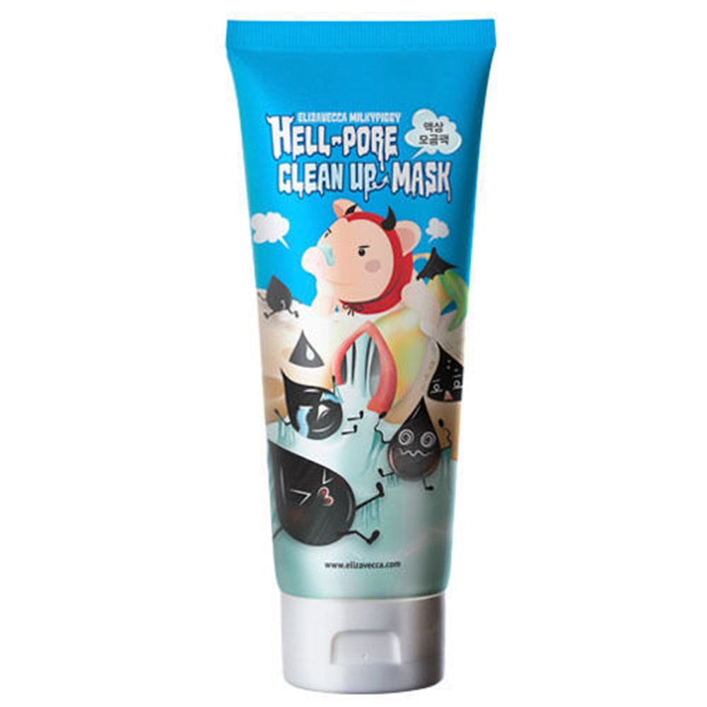 Elizavecca Hell Pore Clean Up Mask - Korean-Skincare