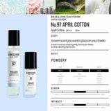 W.DRESSROOM Dress & Living Clear Perfume No.97 April Cotton - Korean-Skincare