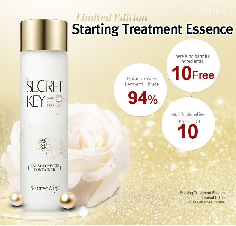 Secret Key Starting Treatment Essence - Rose Edition - Korean-Skincare