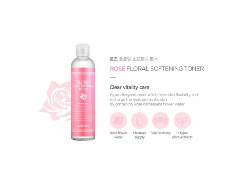 Rose Floral Softening Toner