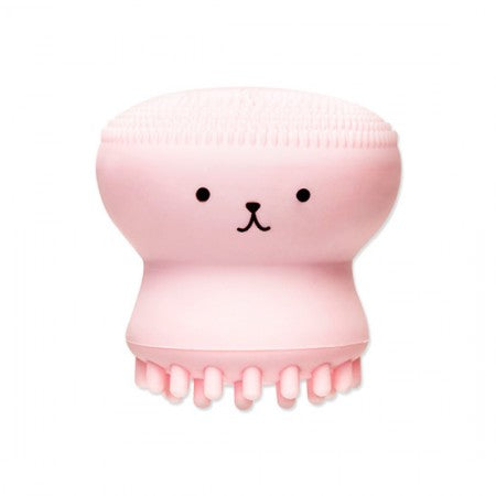 Etude House Exfoliating Jellyfish silicon brush - Korean-Skincare