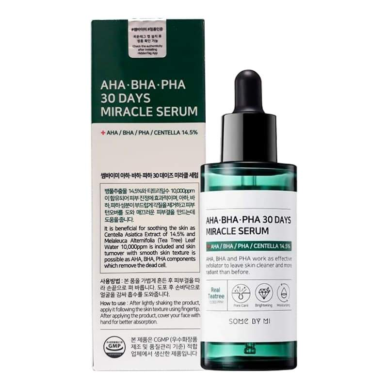 Some By Mi AHA BHA PHA 30 Days Miracle Serum - Korean-Skincare