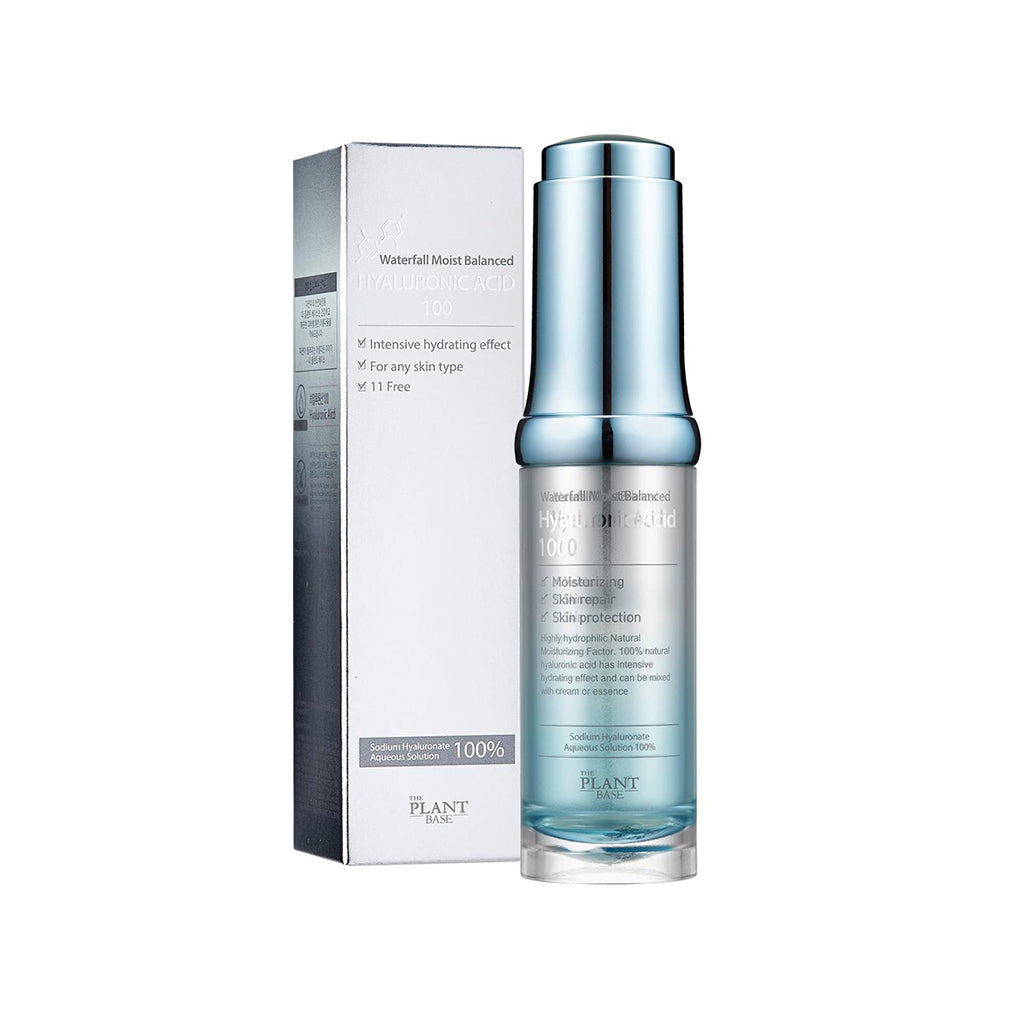 The Plant Base Waterfall Moist Balanced Hyaluronic Acid 100 - Korean-Skincare