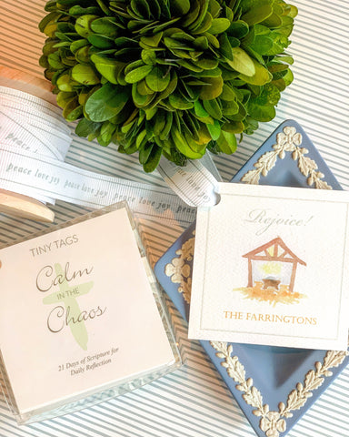 Calm in the Chaos: Tiny Tag Co. Scripture Cards
