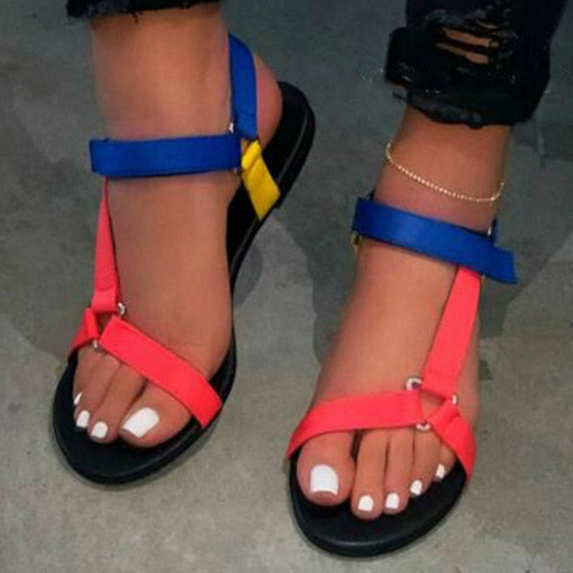 Low-Top Gladiator Foam Sandal