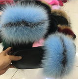 Plush Furry Faux Fur Slipper