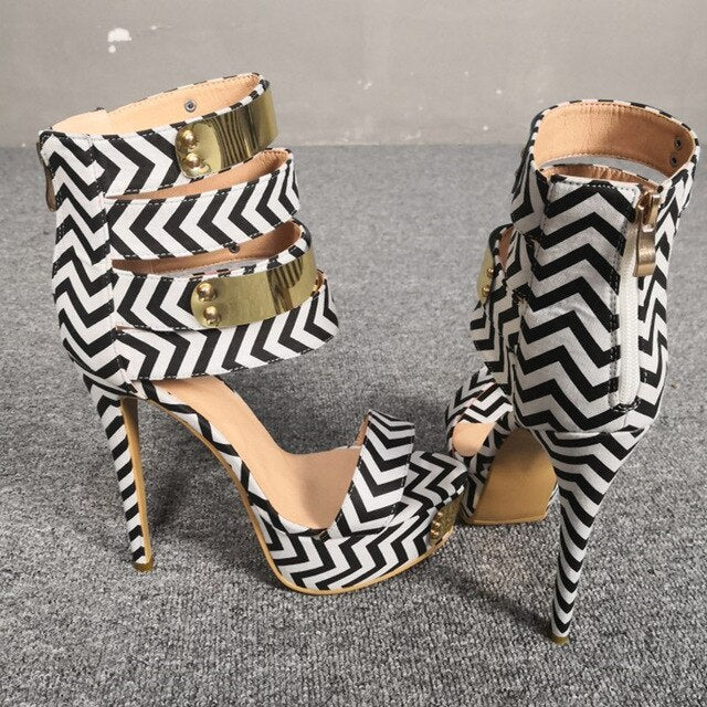 Zebra Striped Gladiators