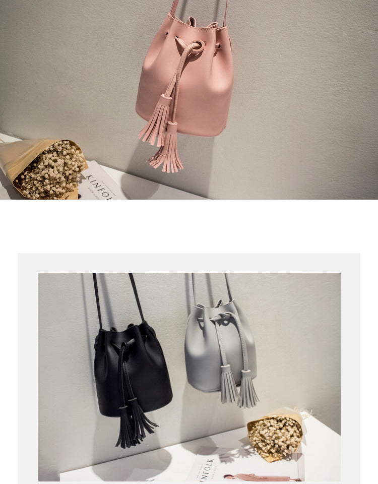 Luxury Bucket Bag For Woman