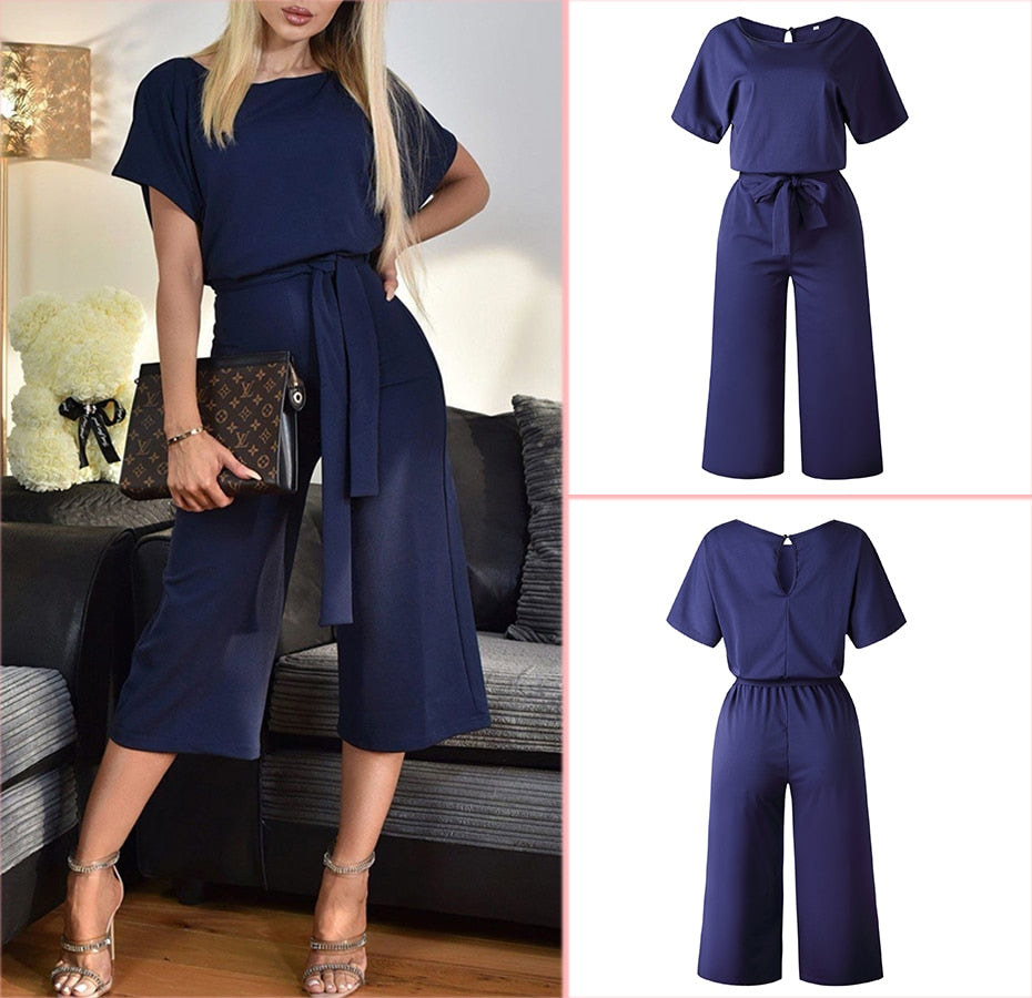 Women Summer Jumpsuit