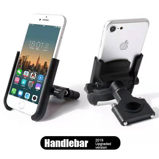 MOTOWOLF Aluminum Alloy Adjustable Handlebar Phone Mount