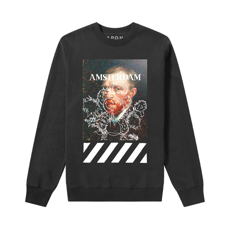 Van Gogh Portrait Amsterdam Sweat
