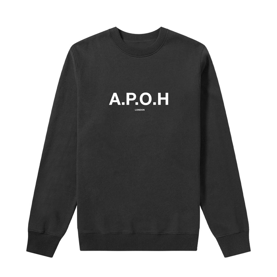 APOH LOGO BLACK SWEAT