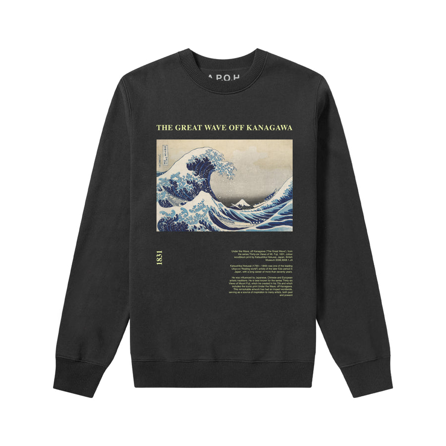 Hokusai's The Great Wave off Kanagawa Sweatshirt