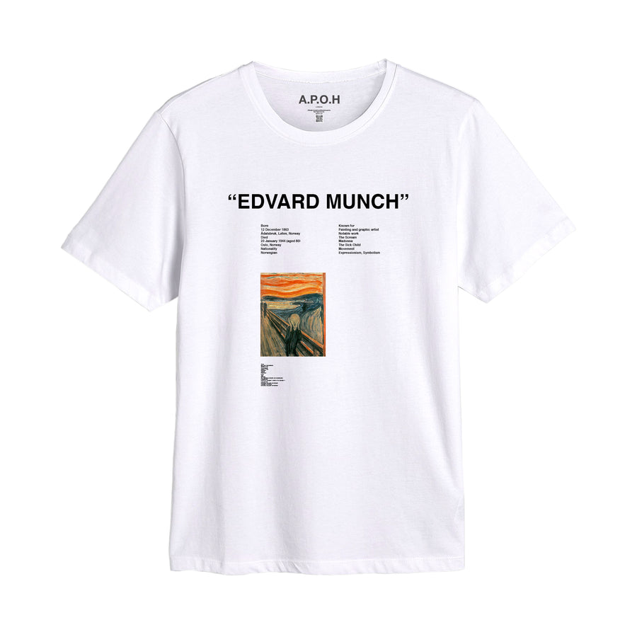 Edvard Munch Scream Placement T-shirt