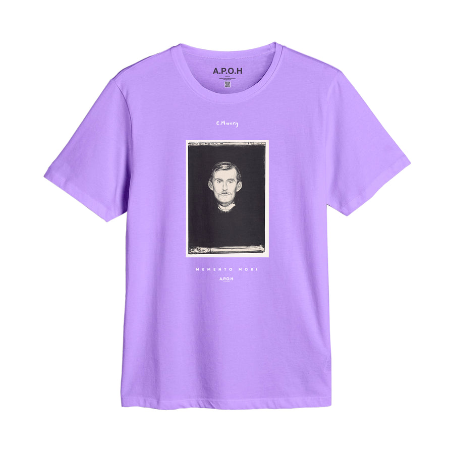 Edvard Munch Portrait Colour T shirt