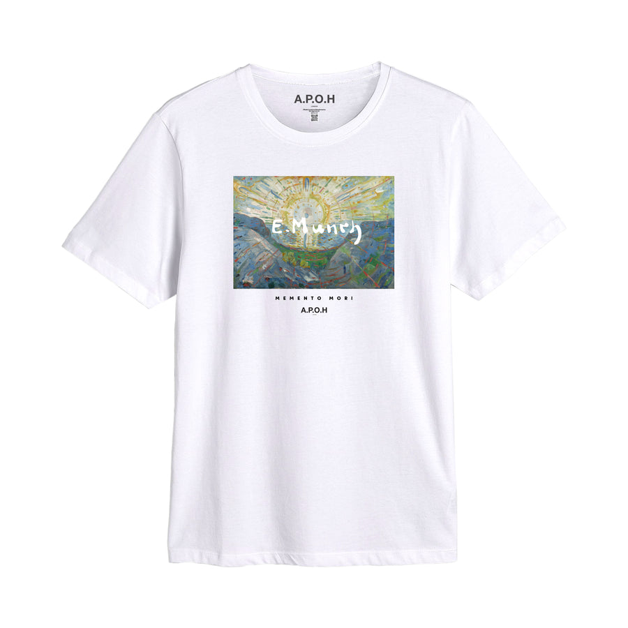 Edvard Munch Momento Mori Light T-shirt