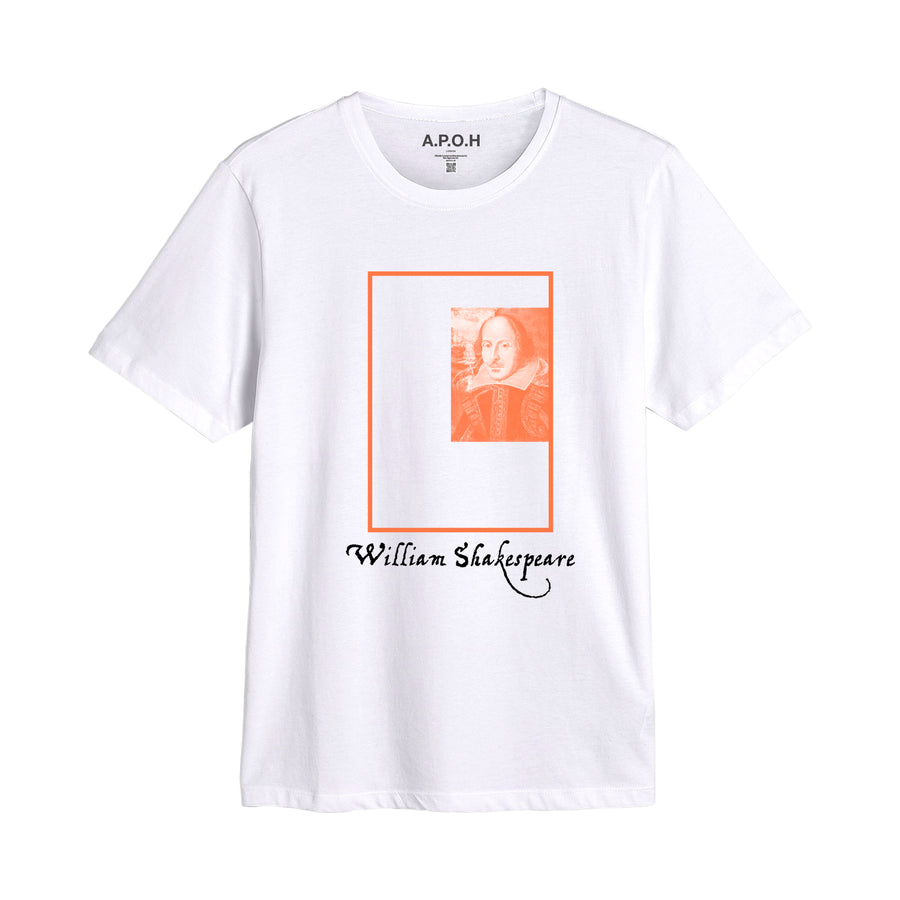 William Shakespeare 1564 - 1616 Placement Tee