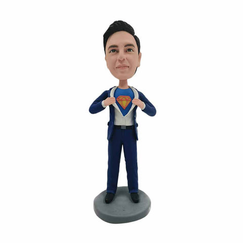 Super Businessman Bobblehead