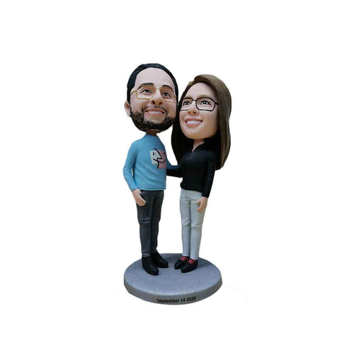 Gorgeous Couple Personalized Bobblehead