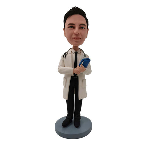 Doctor with Stethoscope Customized Bobblehead