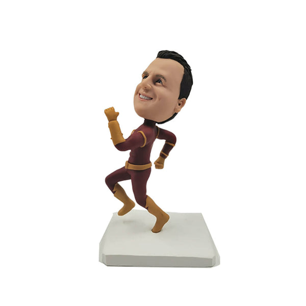 Running Flash Marvel Bobblehead