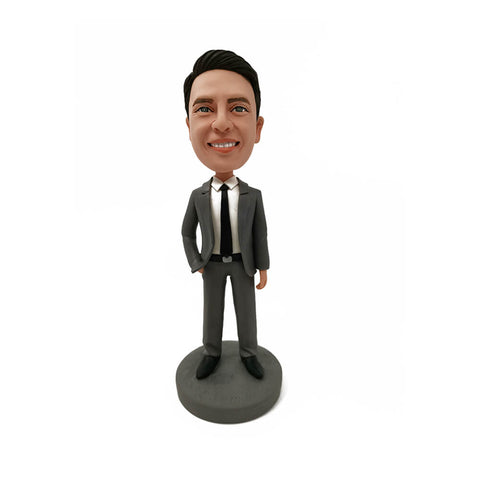 Hansome Sales Manager Bobblehead