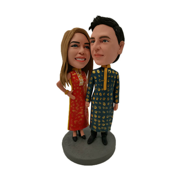 Indian Couple Bobblehead