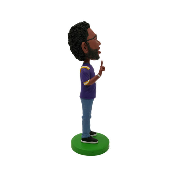 LSU Tiger Football Player Custom Bobbleheads