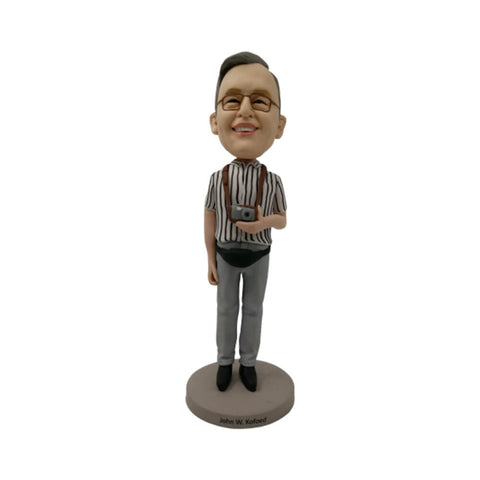 Photographer custom bobblehead