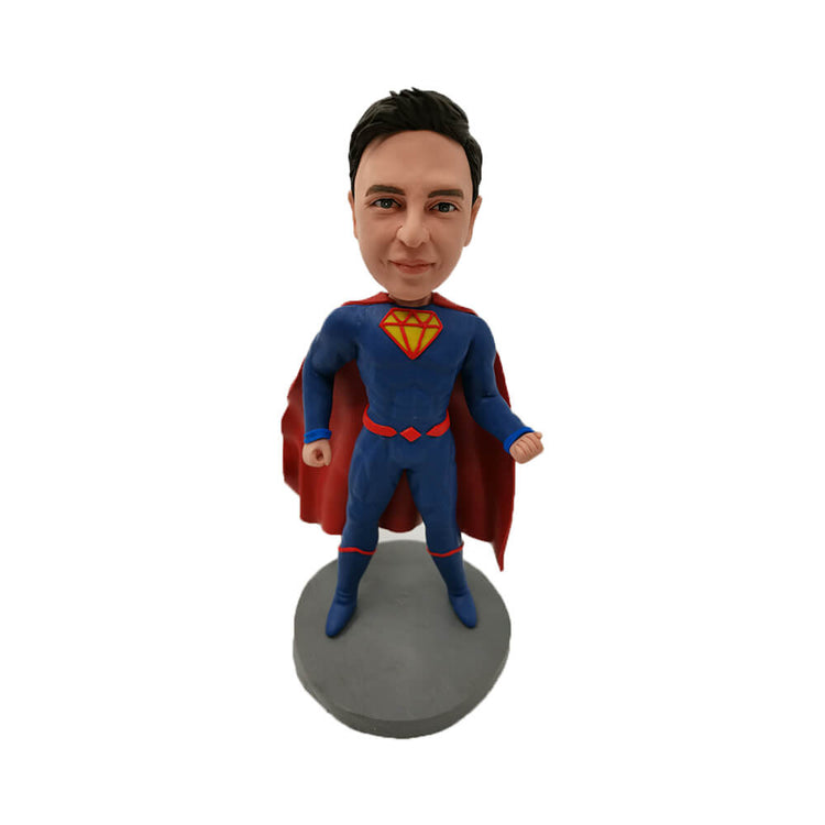 Showing Muscle Superman Bobblehead