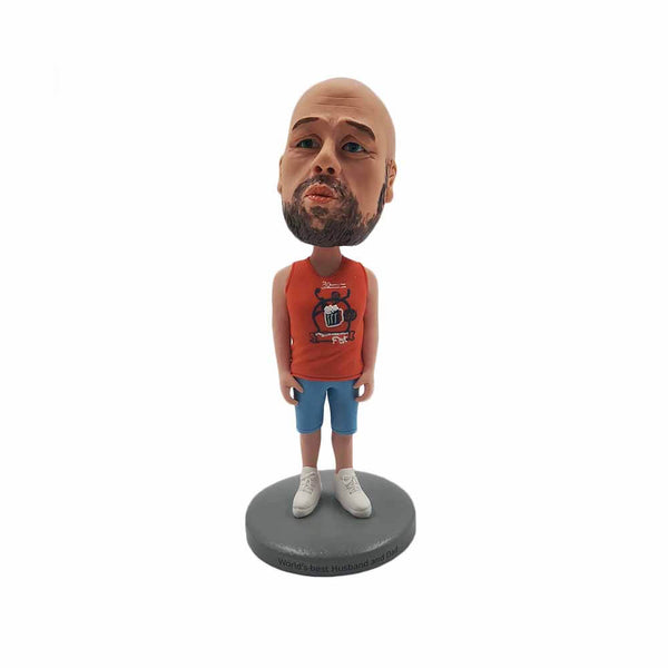 World's Best Husband Personalized Bobblehead