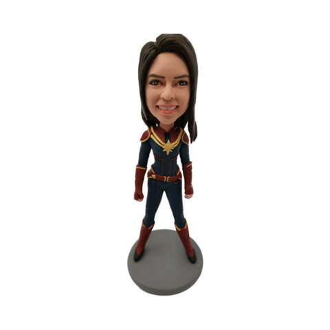 Captain Marvel Custom Bobblehead