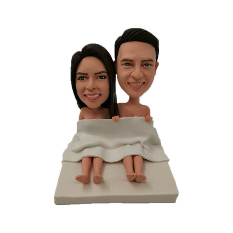 Couple on the Bed Bobblehead