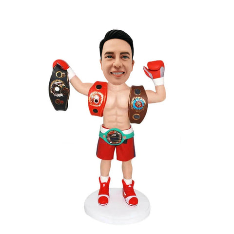 King of Boxer Custom Bobblehead