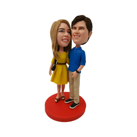 custom couple bobblehead