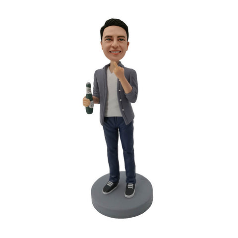 Beer Man Custom Bobblehead