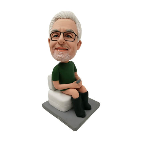 Man On The Toilet Bobblehead