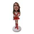 Santa Lady Custom Bobblehead