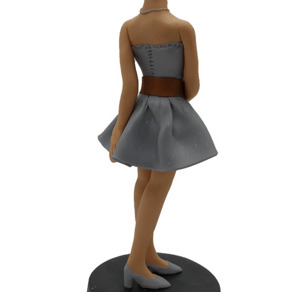 Short Skirt Lady Custom Bobblehead
